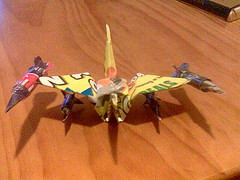 Origami Raptor
